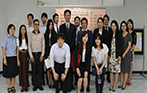 Welcome Meiji University's professors and students to visit us